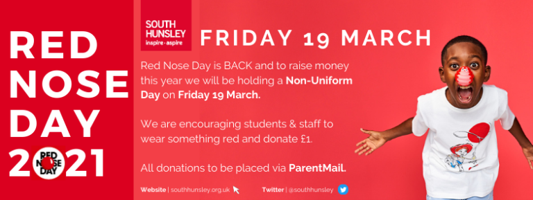 Red Nose Day 2021 - South Hunsley School
