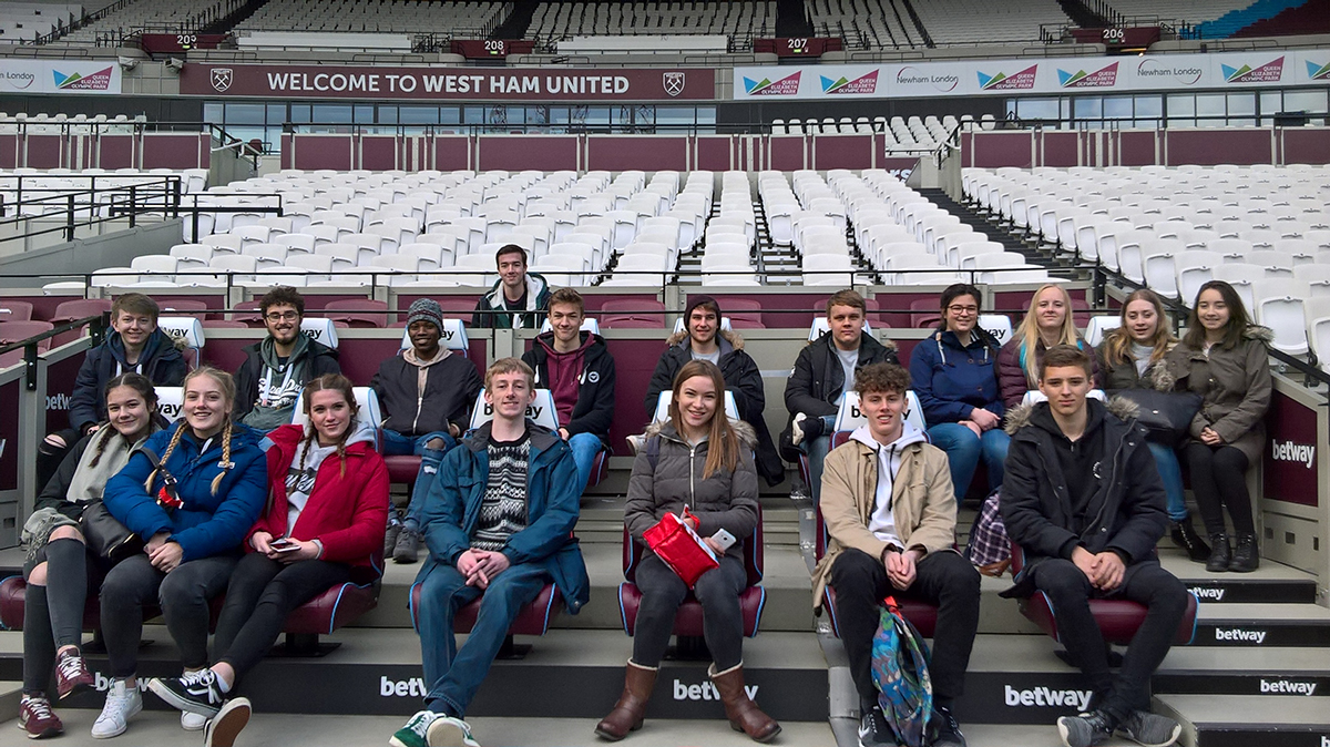 Year 13 Geography London Visit